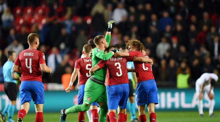 Чехия 2-1 Англия (репортаж)
