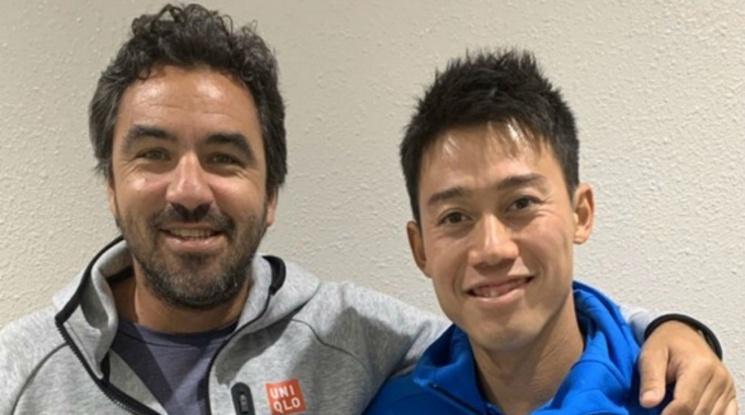 Нишикори се раздели с треньора си