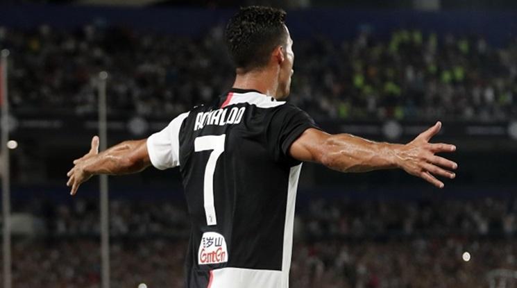 Роналдо поведе Юве към нови три точки (видео)
