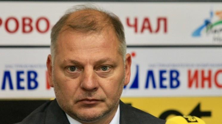 Петко Петков вече не е треньор на ЦСКА 1948