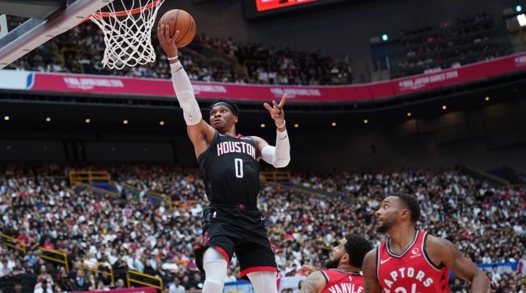 Уестбрук измести Меджик Джонсън по трипъл-дабъли в историята на НБА