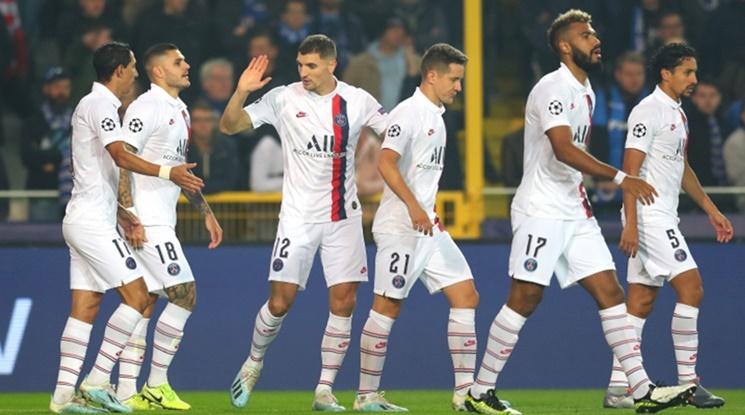 ПСЖ разби Марсилия, Икарди и Мбапе с по 2 гола