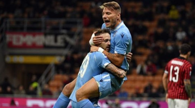 """Лацио удари Милан на """"Сан Сиро"""""""