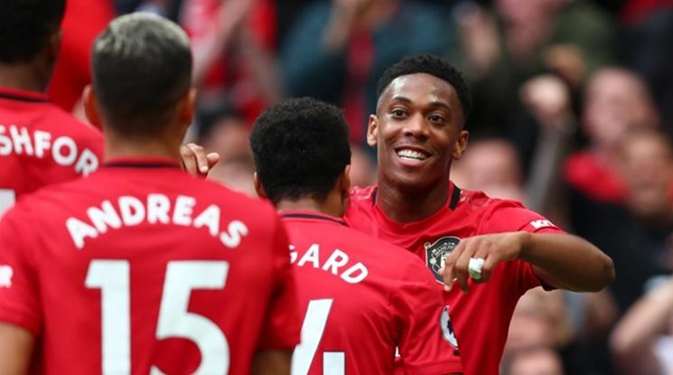 """Юнайтед подчини Брайтън на """"Олд Трафорд"""", Марсиал и Рашфорд блестят (видео)"""