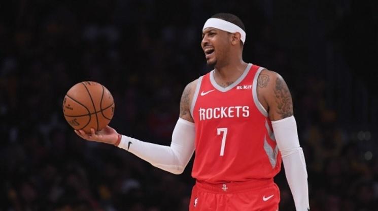 Кармело Антъни се завръща в НБА