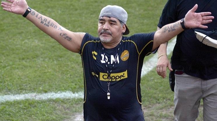 Уволниха Диего Марадона