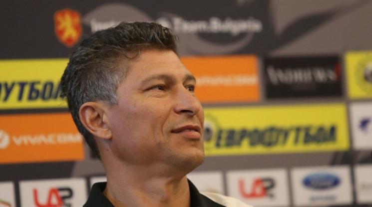 Балъков: Вярвам в този отбор