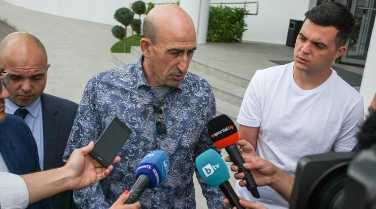 Лечков: Жребият е доста благоприятен