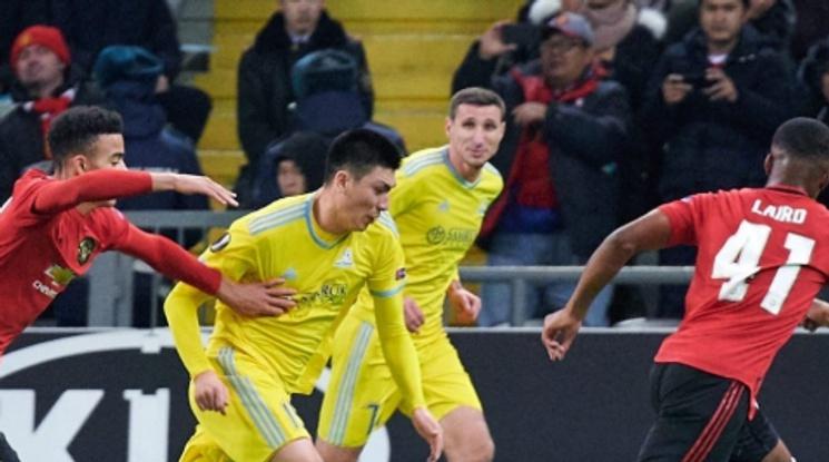 Ман Юнайтед допусна обрат в Казахстан (видео)