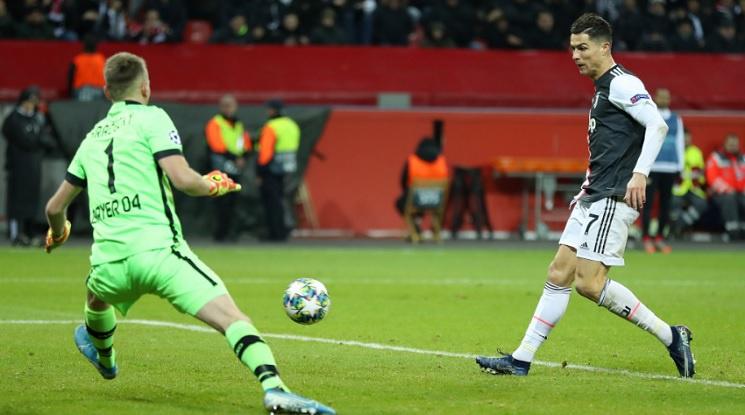 Роналдо вкара гол №129 в Шампионската лига (видео)