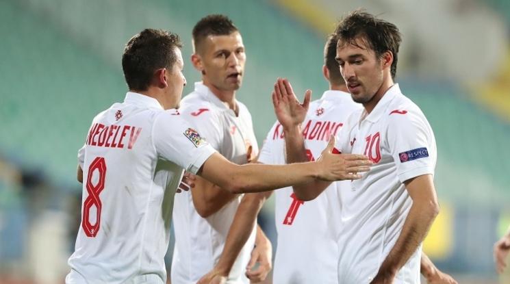България дели 59-о място с Буркина Фасо в ранглистата на ФИФА