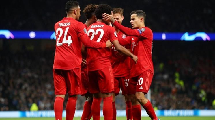 С два късни гола Байерн повали Волфсбург в Мюнхен (видео)