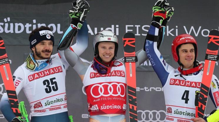 Кристоферсен се качи на върха след триумф в Алта Бадия