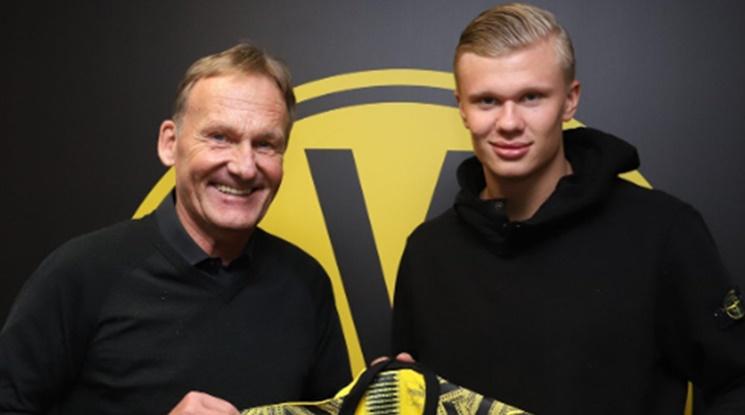 Официално: Ервинг Хааланд подписа с Борусия Дортмунд