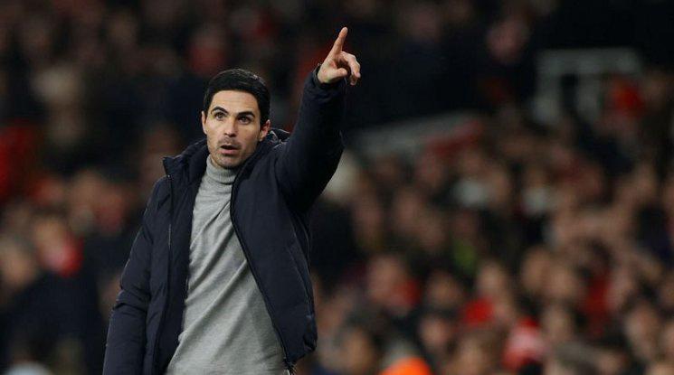 Артета е оптимист за бъдещето на Арсенал