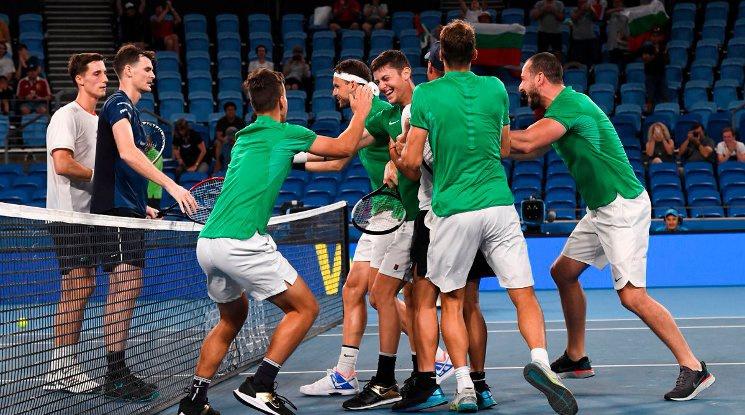 Димитров и Лазаров донесоха драматична победа на България срещу Великобритания на АТП Къп