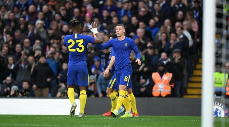 Челси преодоля Нотингам Форест за Купата, сините носеха специални екипи (видео)