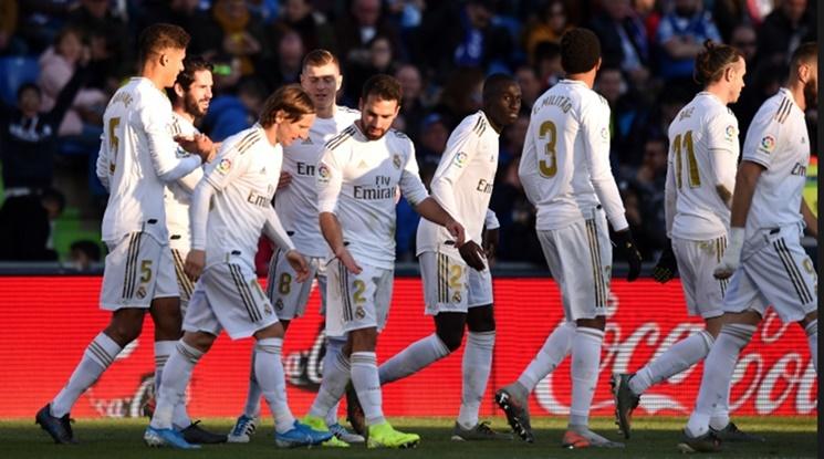 Реал Мадрид с впечатляващ дефанзивен рекорд в Примера