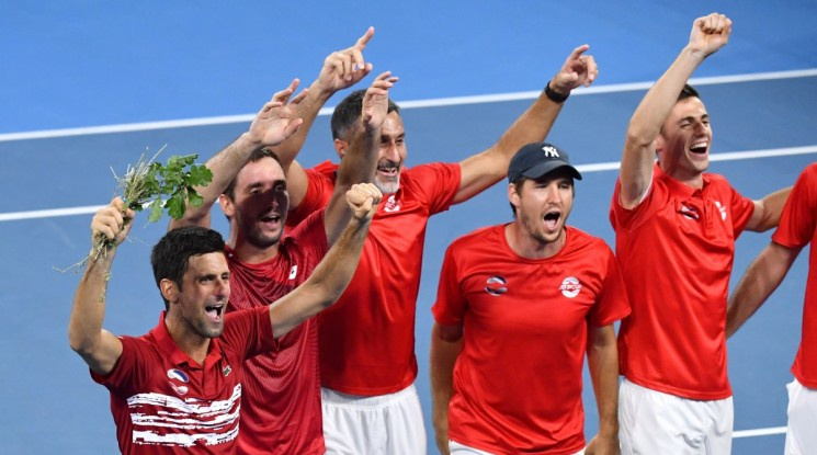 Сърбия обърна Франция и е вторият четвърфиналист за ATP Cup