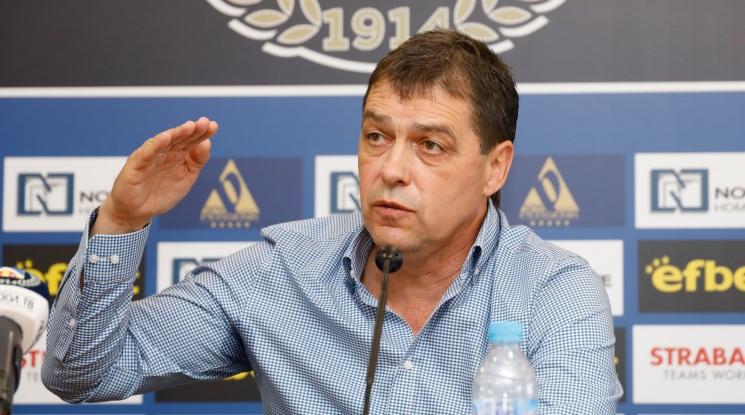 Хубчев: Всичко друго освен шампион и купа не се брои в отбори като Левски