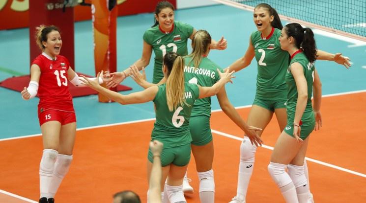 Волейболистките запазиха минимални шансове за полуфиналите след успех над Азербайджан
