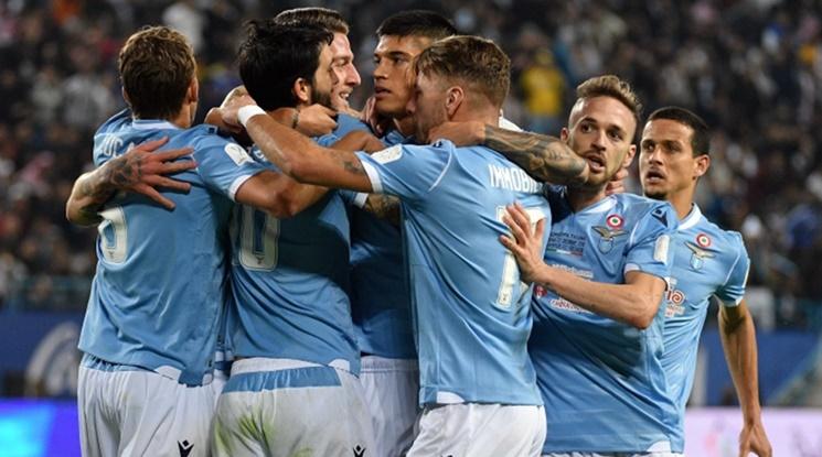 Лацио съсече Наполи с гол в края (видео)