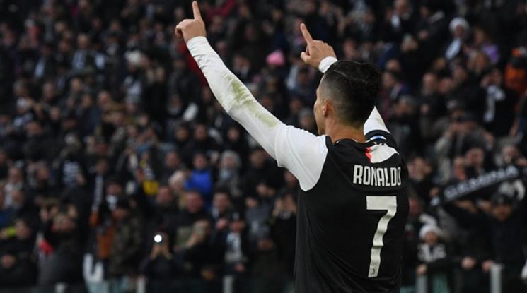 Юве се завърна на върха в Серия А след победа в дербито с Рома (видео)