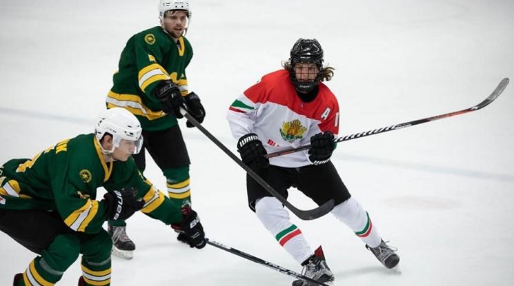Хокеистите на България с първа победа на Световното в София