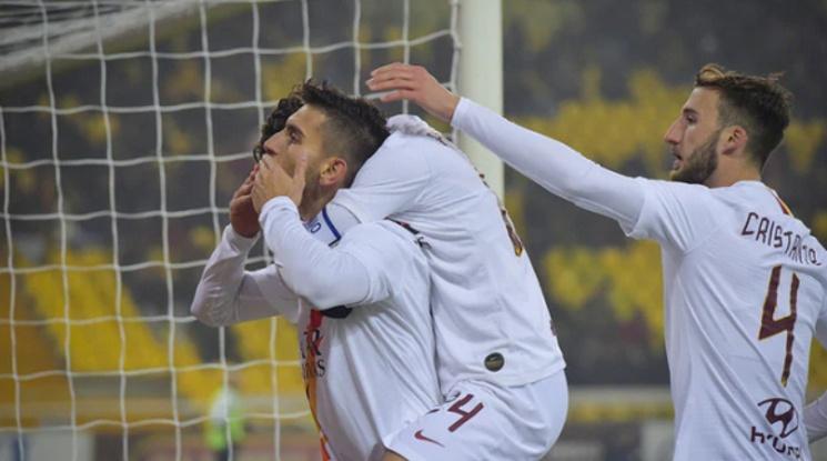 Рома се класира за 1/4-финалите за Купа Италия (видео)