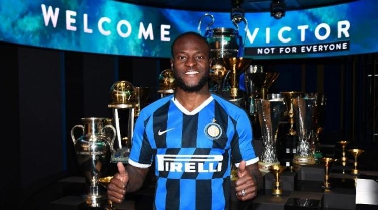 Виктор Моузес е футболист на Интер