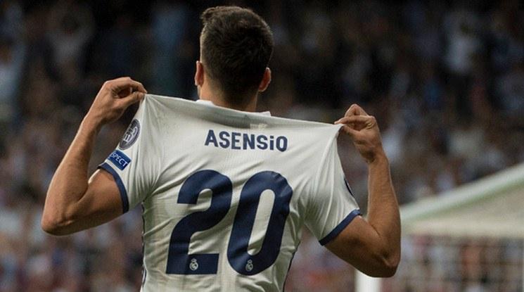 Асенсио вече тренира с топка