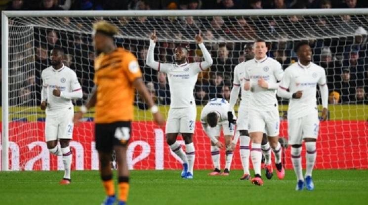 Челси продължи към 1/8-финалите на Купата на Англия (видео)