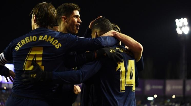 Реал Мадрид е новият едноличен лидер в Примера (видео)