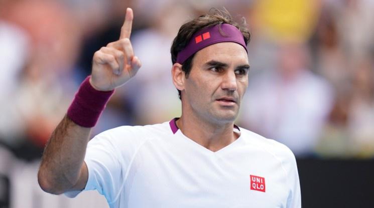Федерер продължава напред в Мелбърн след нова драма