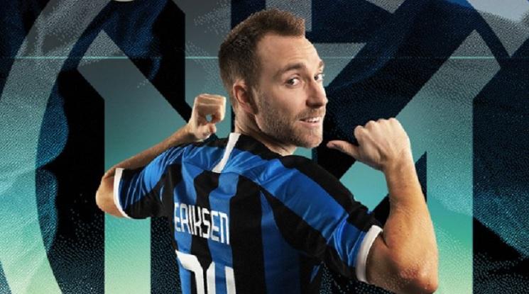 Официално: Кристиан Ериксен премина в Интер