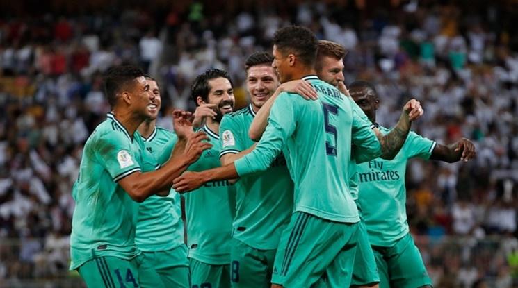 """Реал Мадрид разгроми Сарагоса на """"Ла Ромаледа"""" (видео)"""