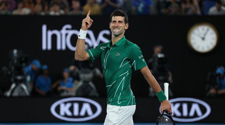 Джокович не остави шансове на Федерер и се класира за финала (видео)