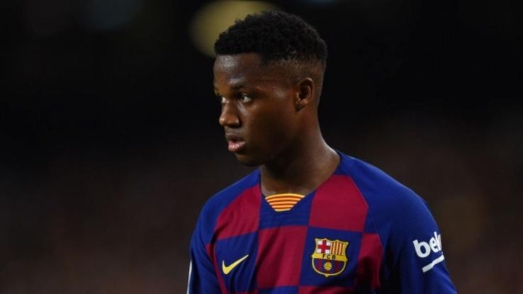 Фати е най-младият автор на два гола в Примера (видео)