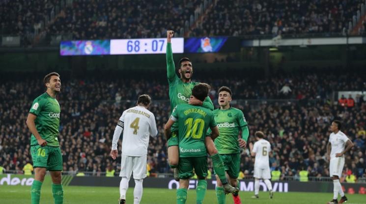 """Реал Мадрид аут от Купата след голов трилър на """"Бернабеу"""" срещу Сосиедад (видео)"""