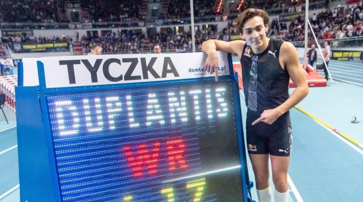 Дуплантис счупи световния рекорд в овчарския скок