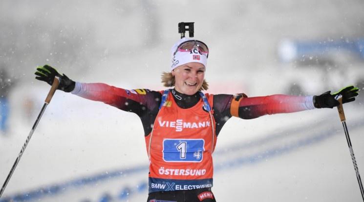 Рьойзеланд спечели спринта на 7.5 км за първо индивидуално злато от Световно