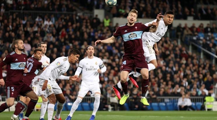 Реал Мадрид се издъни като домакин на Селта (видео)