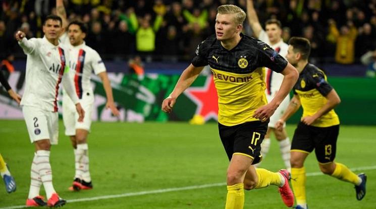 Ерлинг Холанд постави рекорд в Шампионската лига