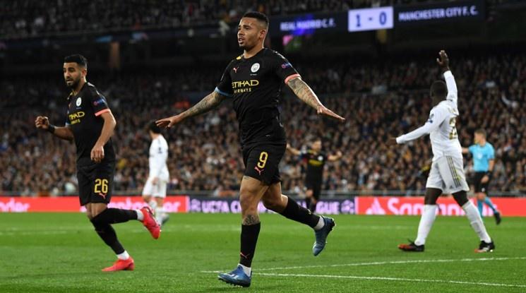 """Ман Сити прекърши Реал Мадрид на """"Бернабеу"""" (видео)"""