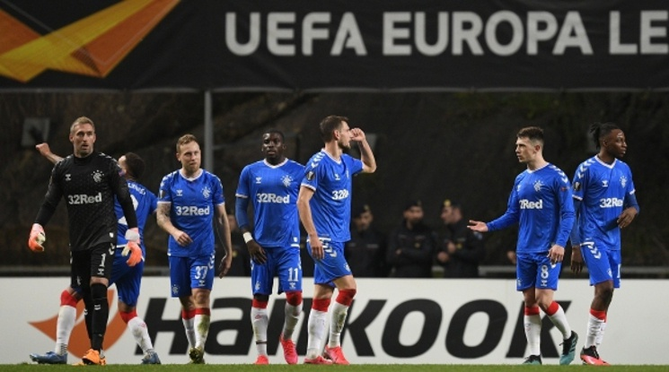 Рейнджърс се класира за осминафиналите в Лига Европа (видео)