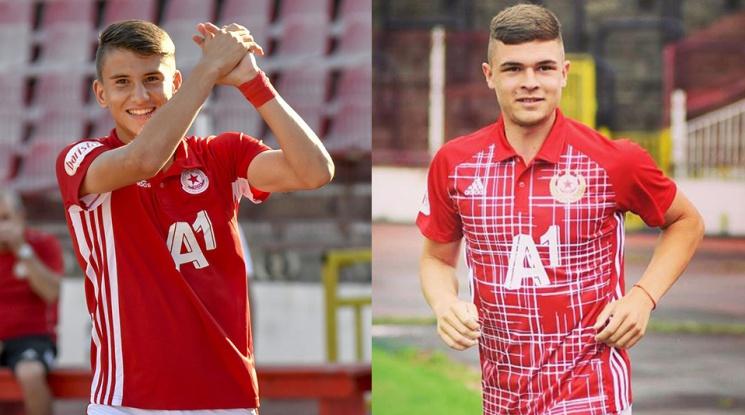 ЦСКА даде под наем двама свои таланти