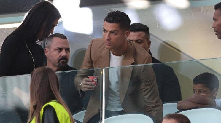 Кристиано е бил в съблекалнята на Реал на полувремето