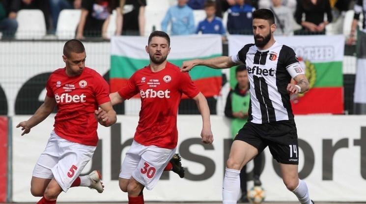 Локо Пловдив продължава защитата на Купата, черно-белите надвиха ЦСКА 1948