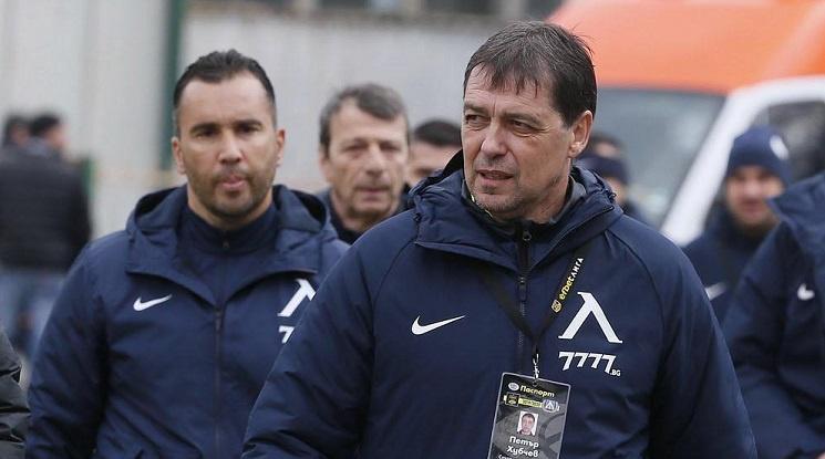 Потвърдено: Петър Хубчев остава начело на Левски