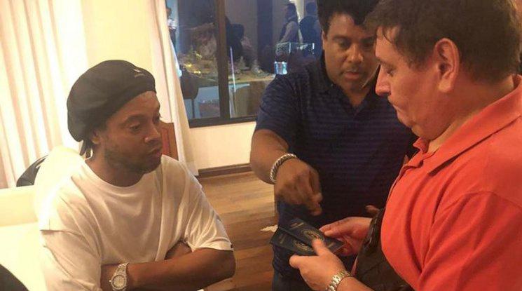 Арестуваха Роналдиньо в Парагвай